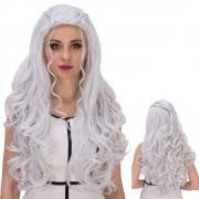 rosegal Long Shaggy Wavy Cosplay Synthetic Wig
