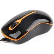 Gembird Mysz OPTO 1-SCROLL USB (MUS-U-004-O) Black/Orange + EKSPRESOWA WYSY?KA W 24H