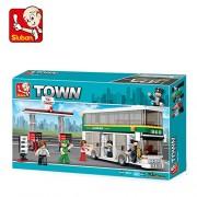 Sluban DOUBLE-DECKER-403PCS ( M38-B0331 ) (Lego compatible)