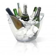 Vin Bouquet Прозрачен охладител за бутилки ICE BUCKET - за 6 бутилки