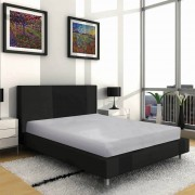 Villa Park VP - Dubbel Jersey Hoeslaken - Grijs - Grijs - Size: 200 x 200