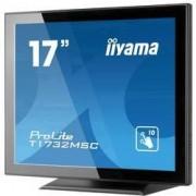 Iiyama LED monitor 43.2 cm (17 palec) Iiyama ProLite T1732MSC-B5X N/A 5:4 5 ms USB, HDMI™, VGA, DisplayPort, audio, stereo (jack 3,5 mm) TN LED