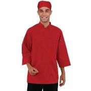 Chef Works unisex koksbuis rood S - S