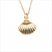 ATLITW STUDIO Alltheluckintheworld Kette Souvenir Necklace SEA Shell Gold Damen