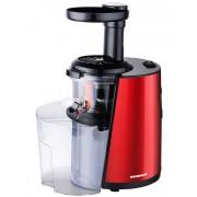 Storcator de fructe si legume cu melc Heinner HSJ-160RD, 150 W, 1 viteza, 80 rpm, rosu - negru