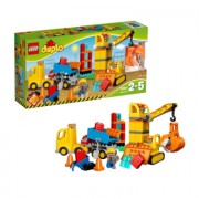 LEGO DUPLO - Ville Constructie Grote bouwplaats 10813