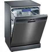 Siemens IQ-500 SN258B00NE Standard Dishwasher - Black Steel - A++ Rated