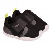 Pantofi Baieti Bibi Fisioflex 3.0 Negru/Gri
