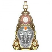Astrology Goods Shri Hanuman Chalisa Yantra With Gold Plated Chain 2510