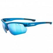 Uvex Sportstyle 115 Clear S0 / Litemirror S1 / Mirror S Occhiali da ciclismo blu/turchese