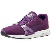 Puma Unisex XT S Matt & Shine Grape Juice and Glacier Gray Mesh Sneakers - 10 UK