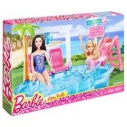 Set de joaca Barbie, la piscina