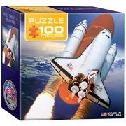 Euro Graphics Space Shuttle Atlantis Mini Puzzle (100 Piece)