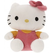 SANA Hello Kitty Soft Toy Character Specially Designed For Kids To Carry Everywhere Stuff | Attractive Designer and Stylish | Perfect for Gifting Purpose | Return Gift | Birthday Gifts (Light Pink, 26cm)