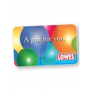Lowes $50 Balloon Gift Card