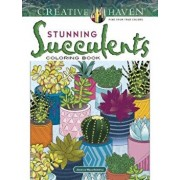Creative Haven Stunning Succulents Coloring Book, Paperback/Jessica Mazurkiewicz