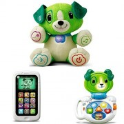 Leapfrog My Pal Scout, Chat & Count Smart Phone & My Talking LapPup (Green), Best Kid Learning Toys & Presents, Kid Toys Educational