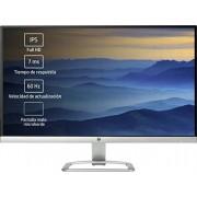"HP 27ea 68.6 cm (27"") LED LCD Monitor 16:9-7 ms 1920 x 1080-16.7 Million Colours"