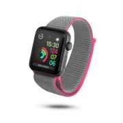 Unotec Correia Velcro para Apple Watch 38/40mm Rosa