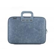 Bombata Denim Laptoptas 15,6 inch - Jeans Blauw