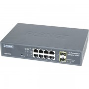Planet GSD-1020S switch 10 8P gigabit et 2 sfp manageable
