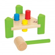 Little Pounder Hammer & Pegs by Hape