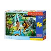 Puzzle Cartea Junglei, 100 piese