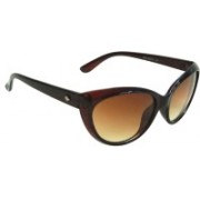 Mangal Brothers Cat-eye Sunglasses(Brown)