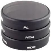 POLAR PRO Pack 3 Filtros Polarizadores ND para Drone Inspire1 e Osmo