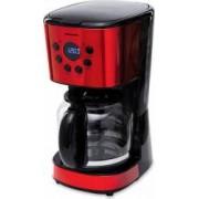 Cafetiera digitala Heinner HCM-D1500RDIX 900 W 1.5 L Timer Display Led fara BPA Rosu-Negru