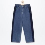 Reserved - Jeansowe spodnie kuloty - Granatowy