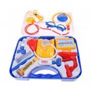 Set de joaca Doctor Eddy Toys, plastic, 14 piese, ochelari inclusi, 3 ani+