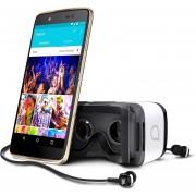 Celular Alcatel Idol 4 Bundle 4G LTE + Lentes VR + Audifonos JBL