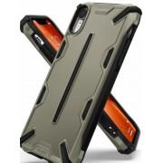 Protectie Spate Ringke Dual X 8809628562554 pentru iPhone Xr (Bej)