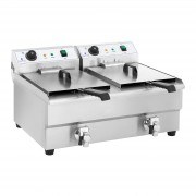 Fritadeira elétrica - 2 x 16 l - 2 x 3200 W