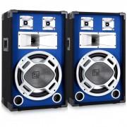 2x casse diffusori led dj altoparlanti 1200W woofer pa
