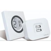 Termostat de ambient fara fir SALUS ST320RF neprogramabil cu inel tactil