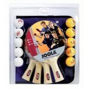 Set tenis de masa Joola Family - 4 palete si 10 mingi