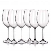 Set de pahare pentru vin roșu Banquet Crystal 6 bucăți