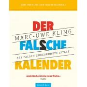 Verlag Voland & Quist Der falsche Kalender 2