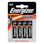 ENERGIZER 4 batterie alcaline aa energizer 1.5v
