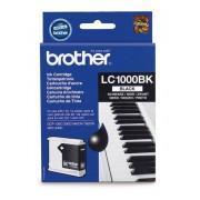 Brother Original Tintenpatrone, Farbe schwarz, Typ LC-1000 bk