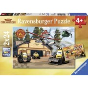 PUZZLE AVIOANE 2x24 PIESE Ravensburger