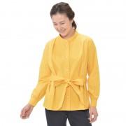 Posh Alma パール調ボタンストレッチブラウス【QVC】40代・50代レディースファッション