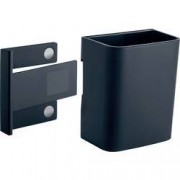 Sigel GL801 zásobník na tužky s magnetickou úchytkou, (š x v x h) 75 x 94 x 51 mm, antracitová
