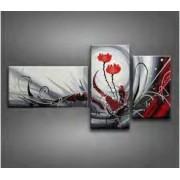 EVA JEKINS Tableau Triptyque Design Roses