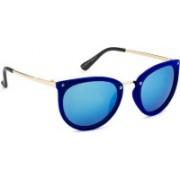Rafa Cat-eye Sunglasses(Violet)