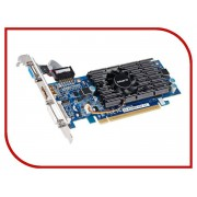 Видеокарта GigaByte GeForce GT 210 590Mhz PCI-E 2.0 1024Mb 1200Mhz 64 bit DVI HDMI HDCP GV-N210D3-1GI