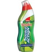 Detergent lichid pentru vasul toaletei 2 in 1, inlatura piatra si parfumeaza - SANOBON DOUBLE ACTIO