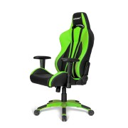 AKRacing Premium Plus Gaming Chair Black/Green AK-PPLUS-GN